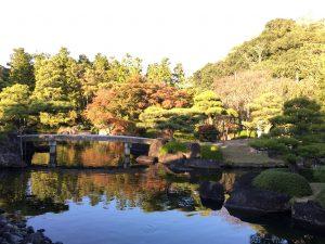 姫路城 好古園 紅葉