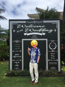 ハワイ 結婚式 靴